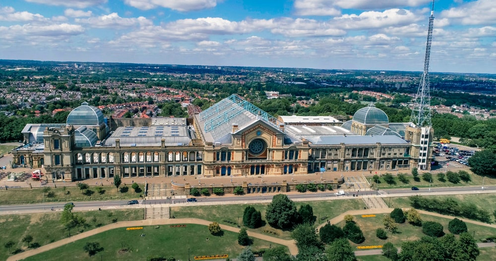London best views alexandra palace