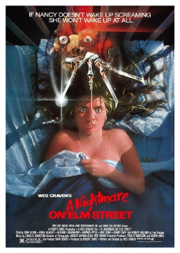 Theatrical poster for the film, A Nightmare on Elm Street (1984)