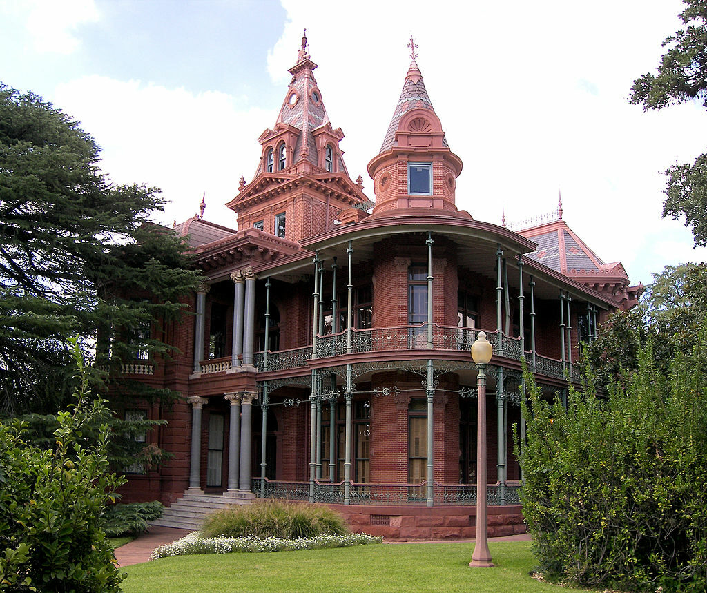 Exterior of Littlefield House in Austin, Texas
