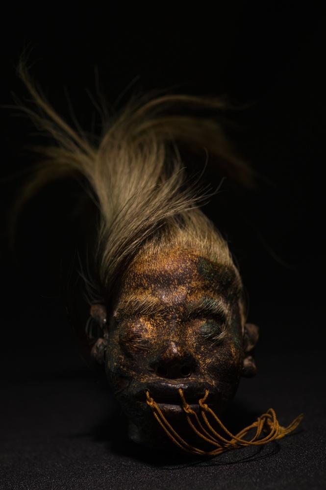 A shrunken head