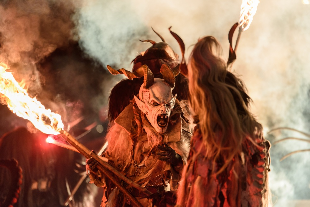 Krampus Parade in Austria