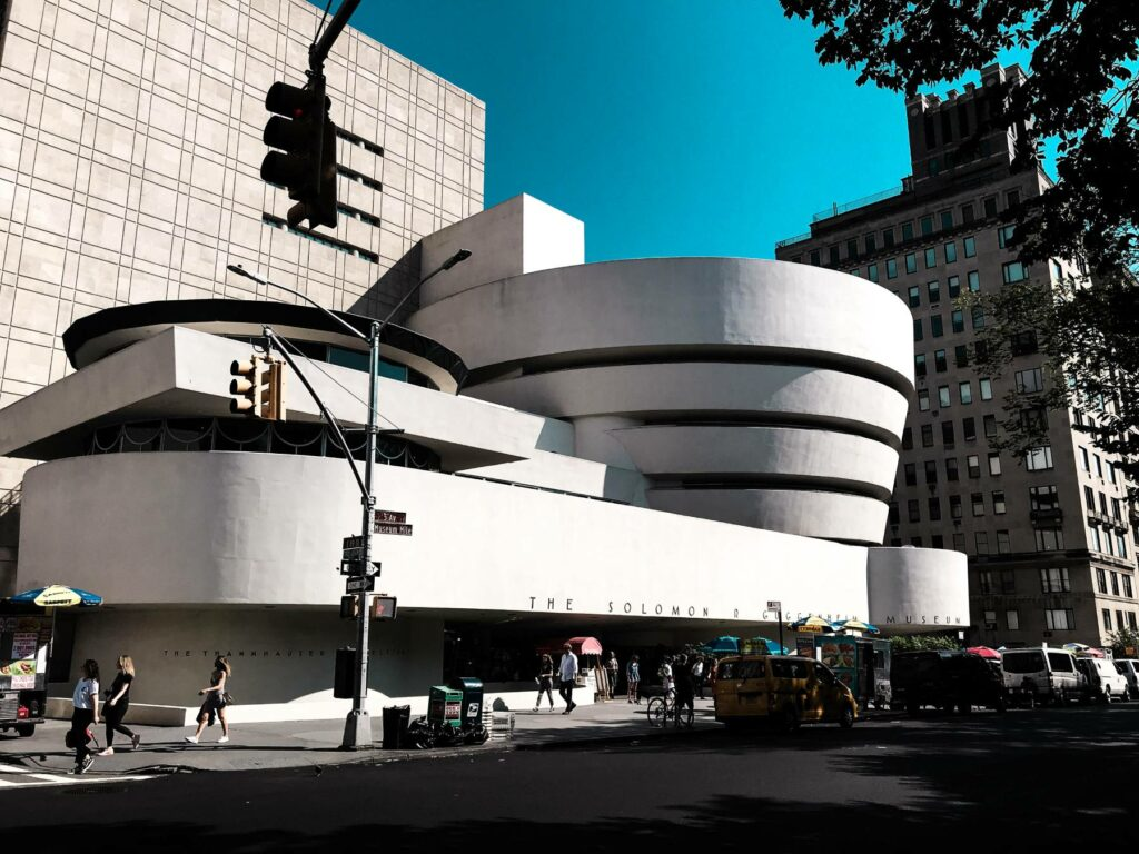 Solomon R. Guggenheim Museum in Manhattan