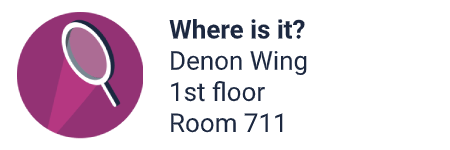 Location: Denon Wing, 1st floor, room 711