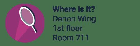 Location: Denon Wing, 1st floor, room 711