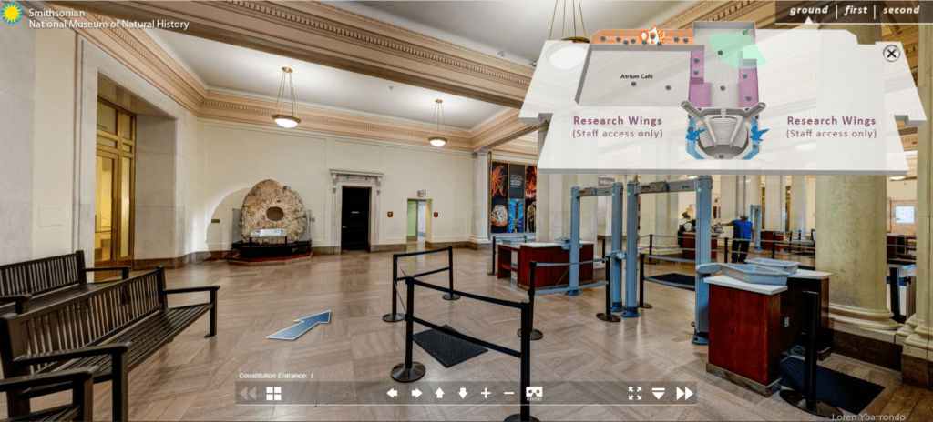 Take a virtual museum tour at the Smithsonian's Natural History Museum