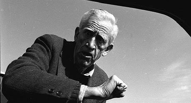 An image of angry reclusive writer JD Salinger attempting to punch journalist through a car window.