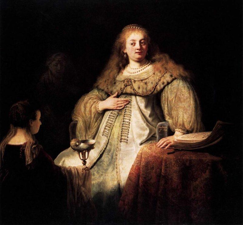 Prado museum highlight: Artemisia by Rembrandt