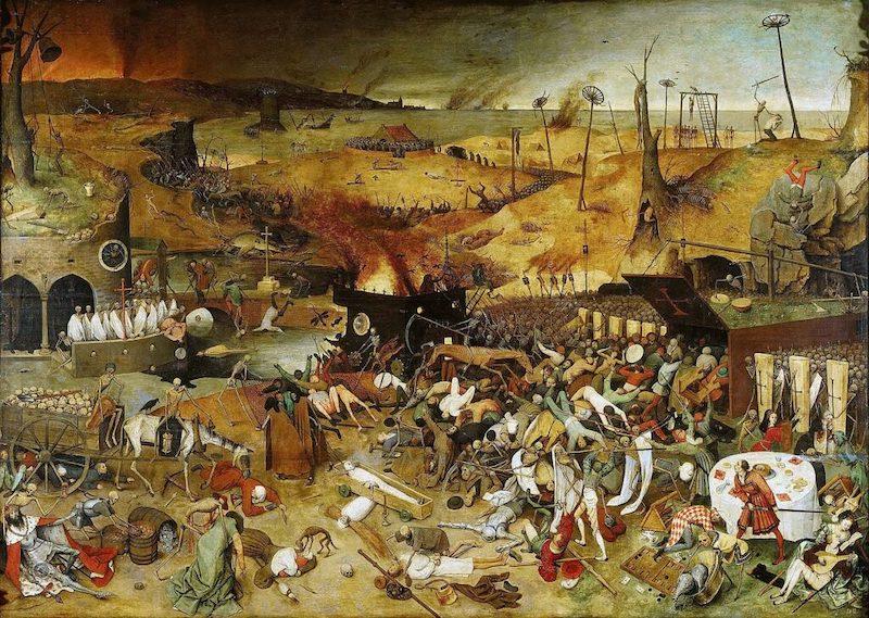 The Triumph of Death, Pieter Bruegel the Elder, 1562