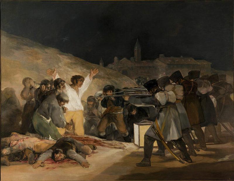 El Tres de Mayo 1808, Francisco Goya, 1814