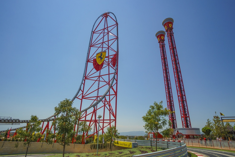 Ferrari Land is another theme park located at PortAventura, just in case one rollercoaster park isn't enough!