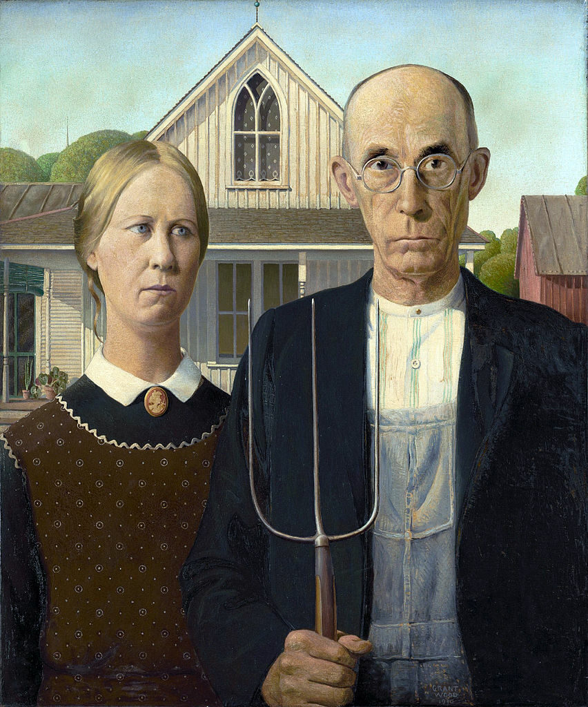 The painter of American Gothic struggled with his sexuality in conservative America