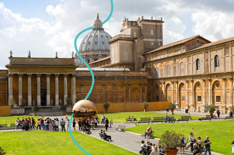 Take a day trip from Rome to the Vatican City
