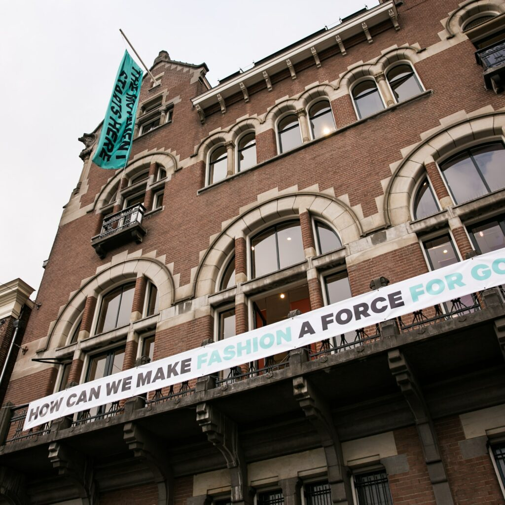 The Fashion for Good building located in Amsterdam is a stronghold of sustainability and responsible tourism.