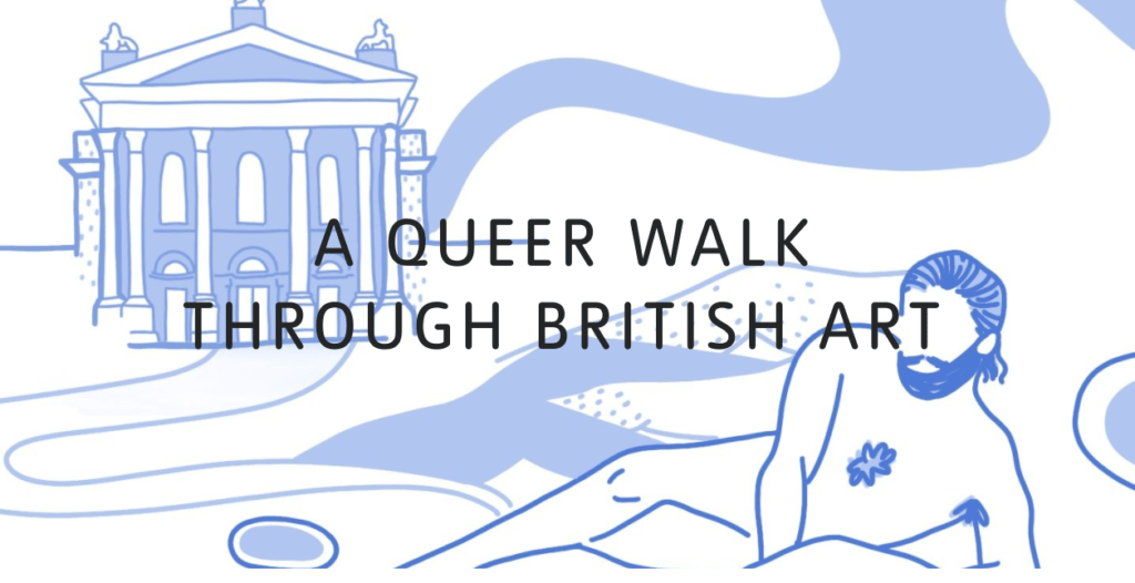 Banner for LGBTQ+ art resources from the Tate's website