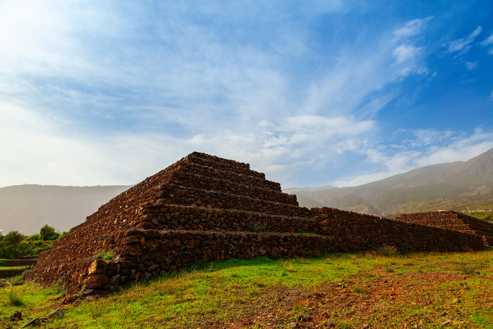 Tenerife's  Pyramids of Guimar, a sustainable example of responsible tourism.