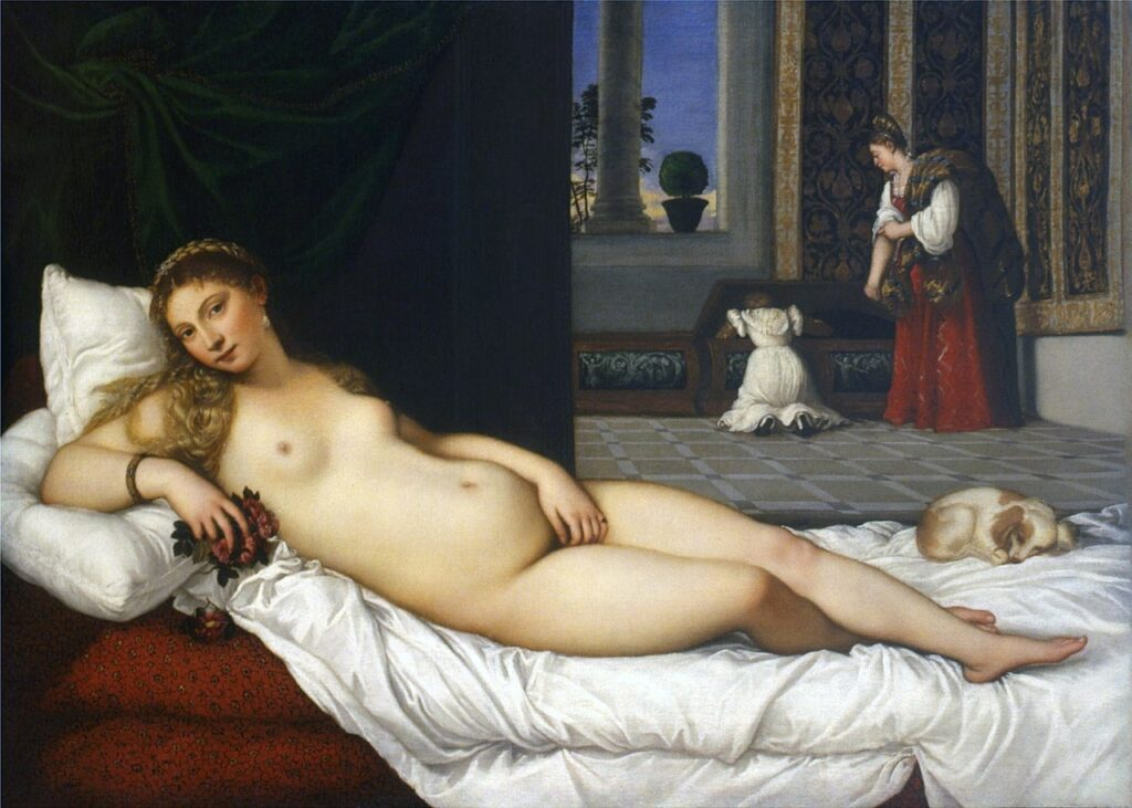 The Venus of Urbino in the Uffizi Gallery has inspired dozens of other iconic paintings