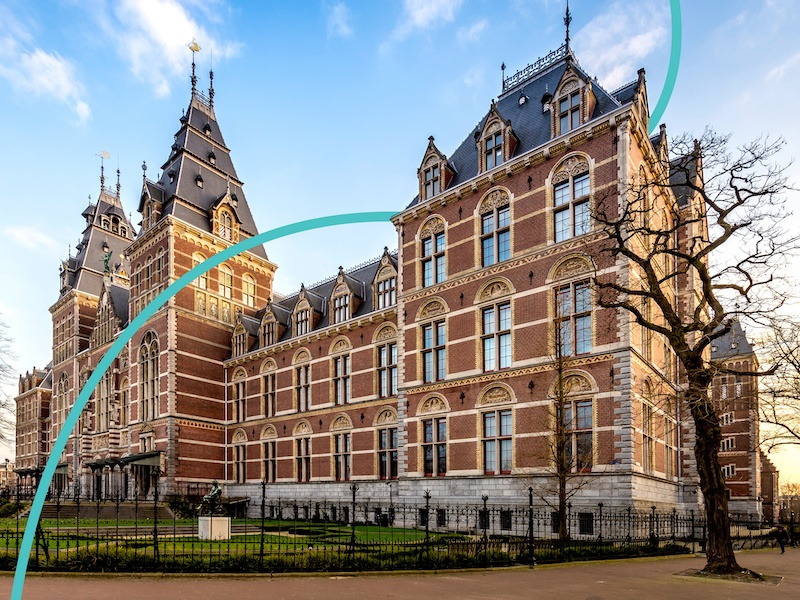 The Rijksmuseum is home to some beautiful Asian art and Japanese art.