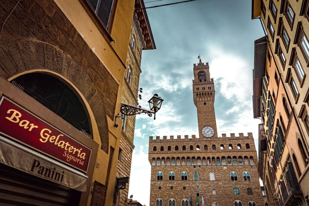 After having your fill of Uffizi Gallery artworks, you can have your fill of pasta in Piazza della Signoria