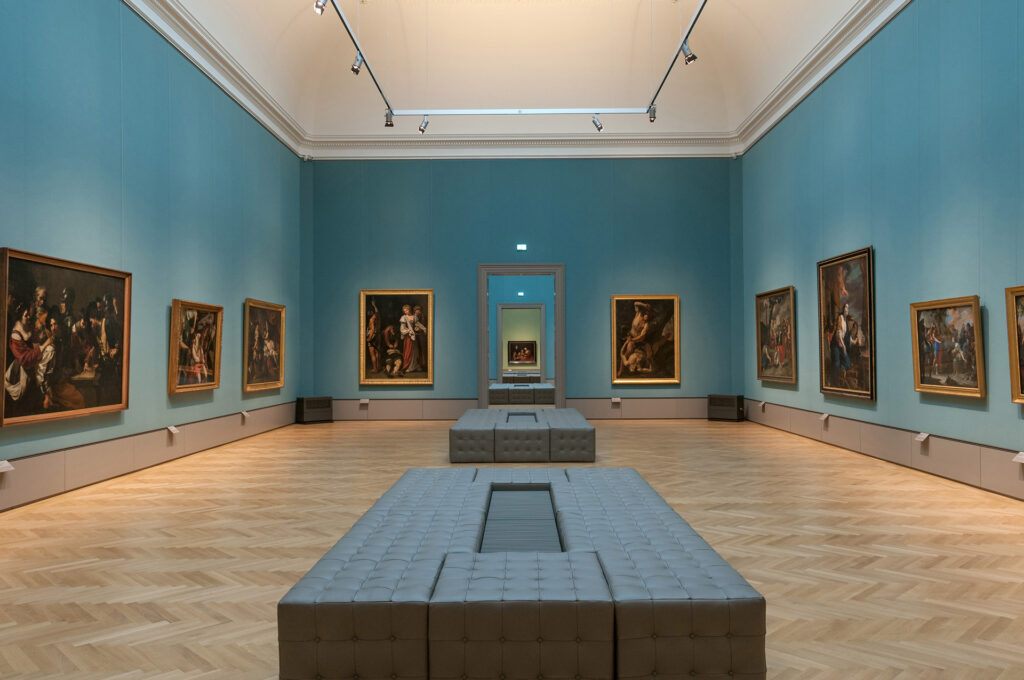 A gallery space inside the Herzog Anton Ulrich Museum.