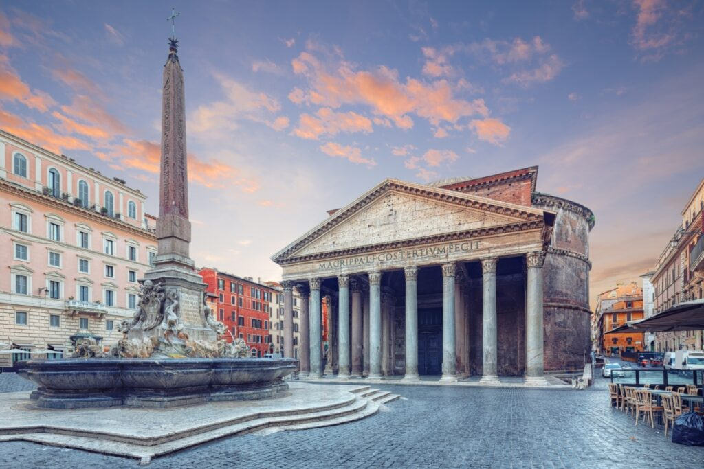 The Pantheon is the city's centerpiece and one of the best places to visit in Rome