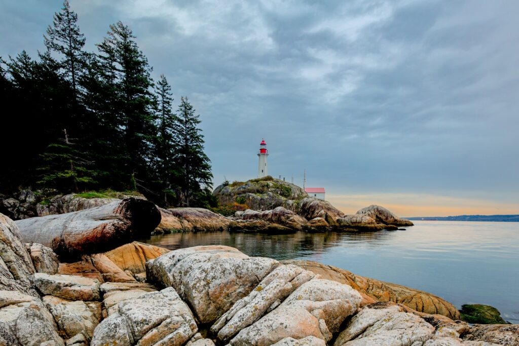 Wreck Beach in Vancouver
