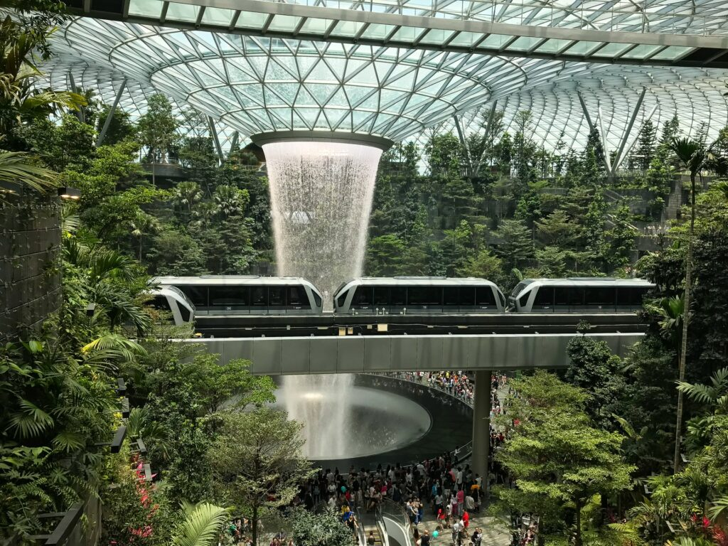 Use the MRT to get to places in and near Singapore city