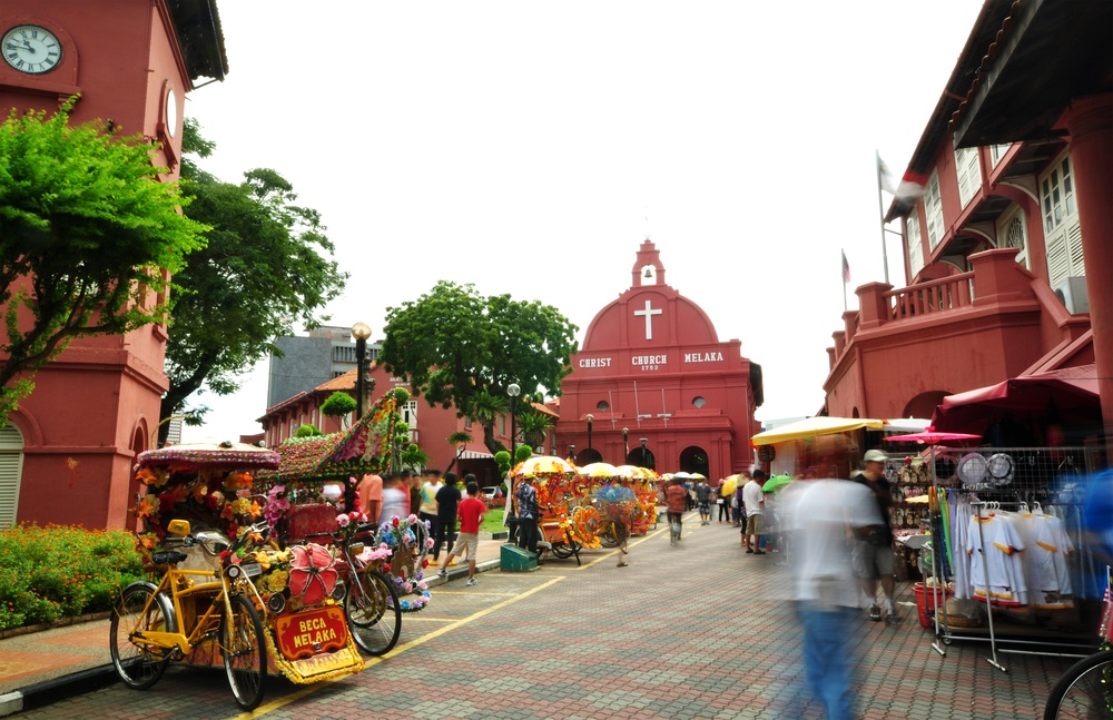 Malacca is a haven for lovers of food and history