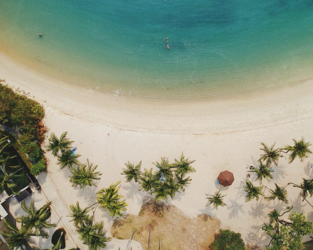 Sentosa island is Singapore's favorite outdoor playground
