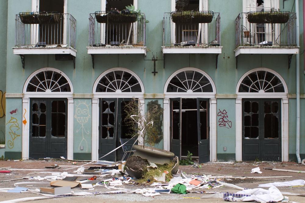 Damage caused by Hurrican Katrina