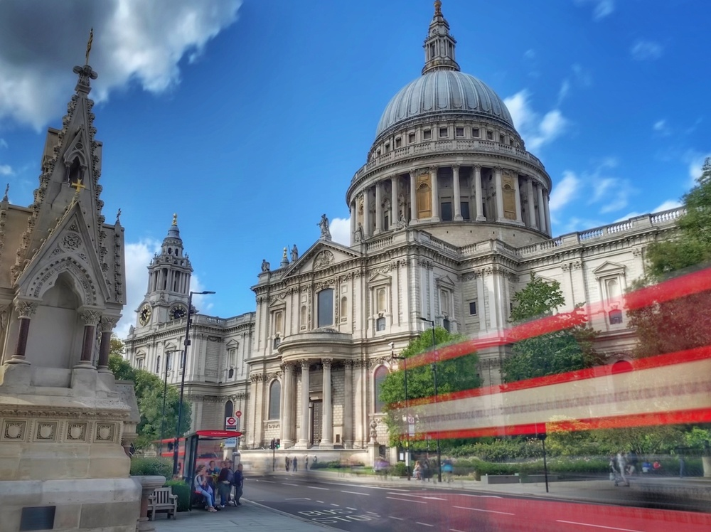 St Paul's Cathedral in London.