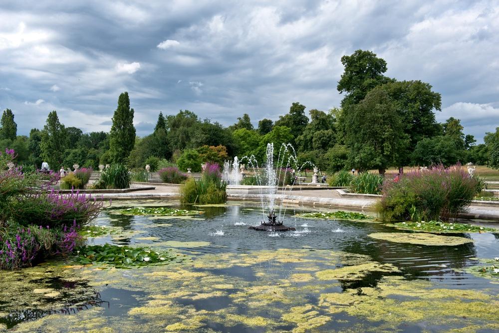 Italian Gardens at Hyde Park.