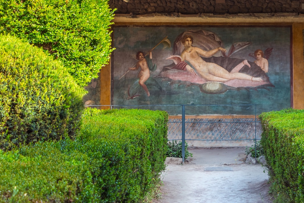 The fresco of Venus in a Shell is one of the best things to see in Pompeii.