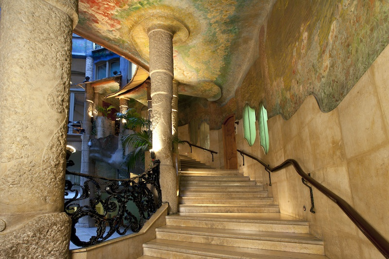 La Pedrera's interior is as interesting as the exterior.