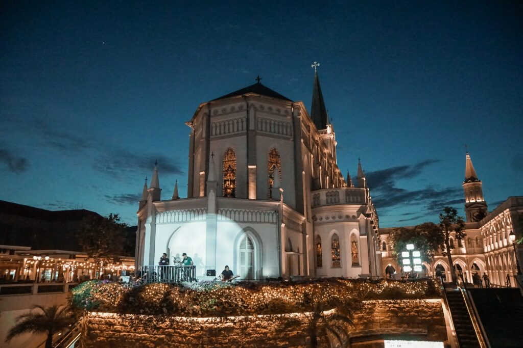 CHIJMES is a local favorite landmark in Singapore