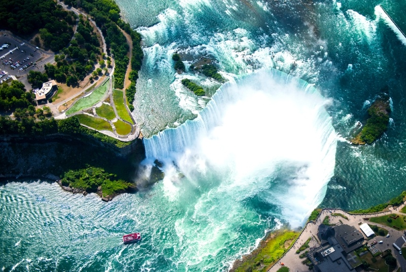 Topping the list of weird facts about Toronto, someone went down the Niagara falls rapids in a barrel in 1901