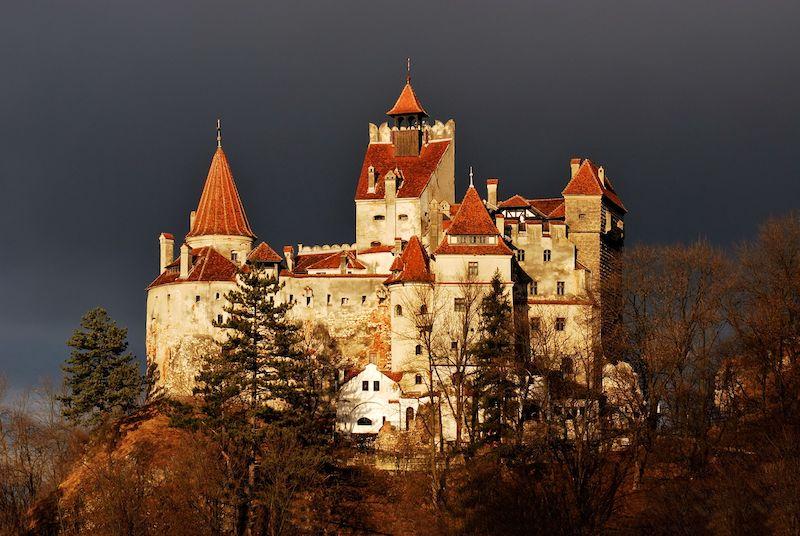 Dracula's Castle in Bran is a famous spooky spot.