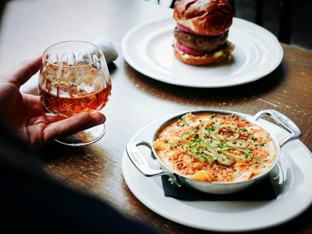 Fancy food is in abundance in Toronto.