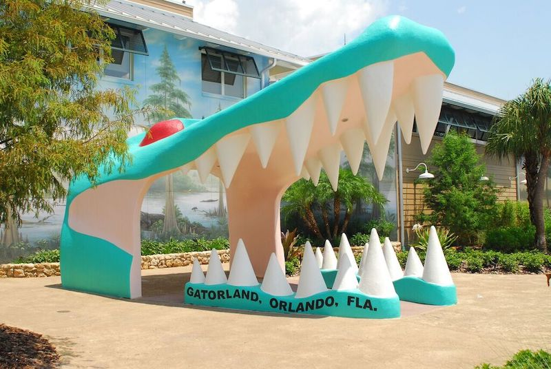 Gatorland may not be a classic Halloween amusement park but it can be scary.