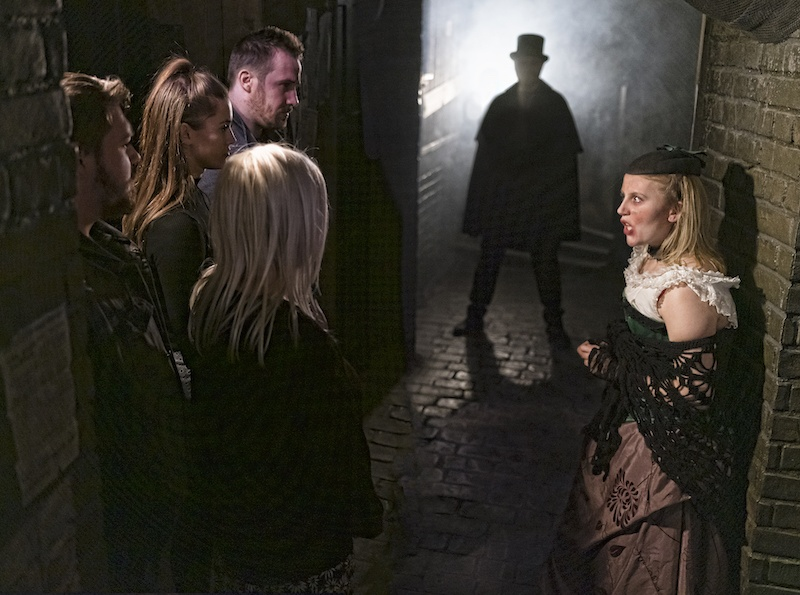 A scene from the London Dungeon, one of Merlin's Halloween amusement parks.