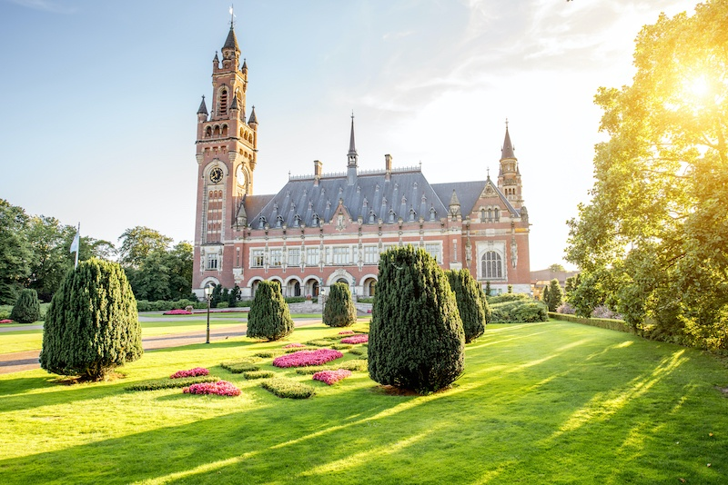 Visiting the Peace Palace is one of the best things to do in the hague