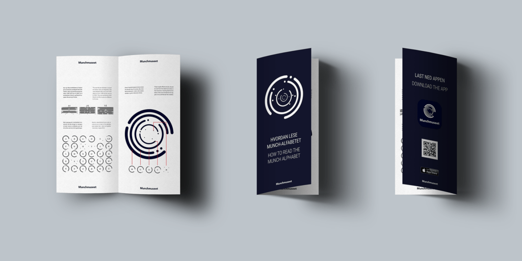 Rebranding concept for Munch Museum in Oslo