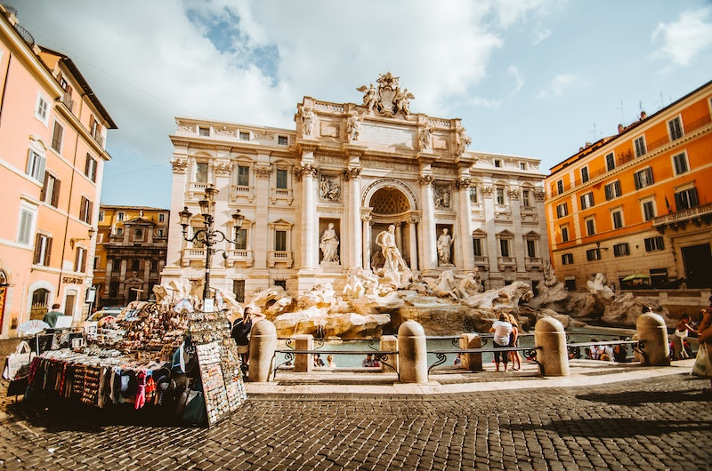 The impact of coronavirus on tourism in Italy may affect iconic attractions like the Trevi Fountain.