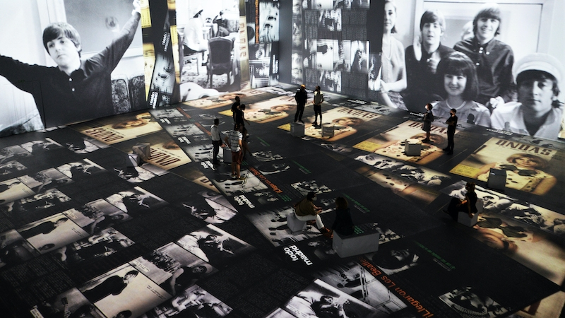 IDEAL's current immersive exhibition