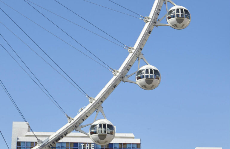 How to Attract Tourists: A Case Study with the LINQ High Roller in Las Vegas