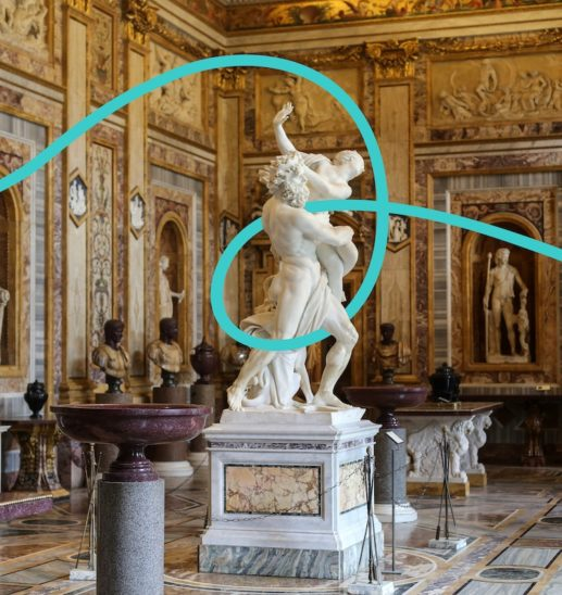 Italian attractions like the Borghese gallery