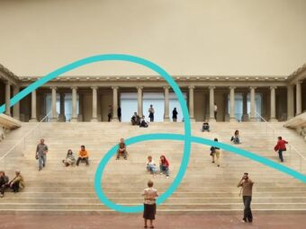 Pergamon Museum entrance